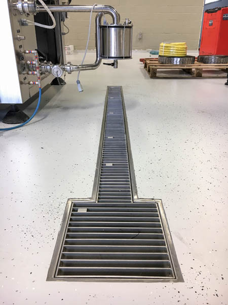 Melk en kaasindustrie Isokonstrukt - ATT afwatering